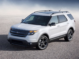 Images of Ford Explorer Sport (U502) 2012