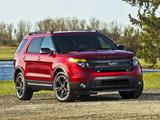 Images of Ford Explorer Sport (U502) 2012