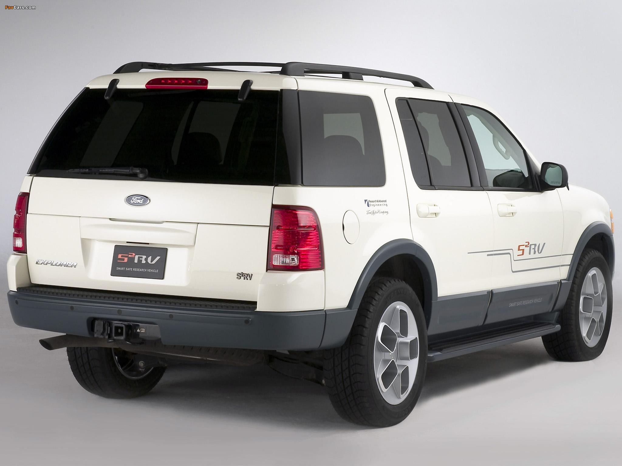 Photos of Ford Explorer S2RV Concept 2003 (2048 x 1536)
