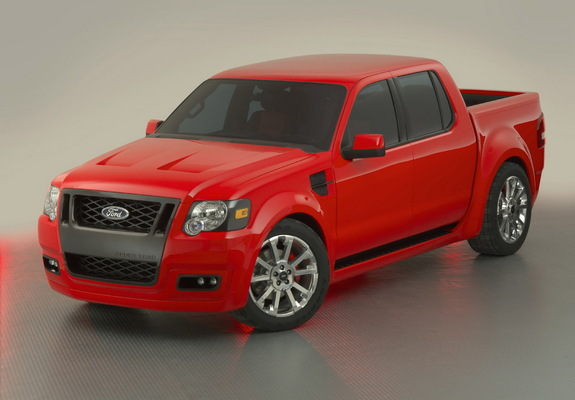 Photos Of Ford Svt Explorer Sport Trac Adrenalin Concept 2006