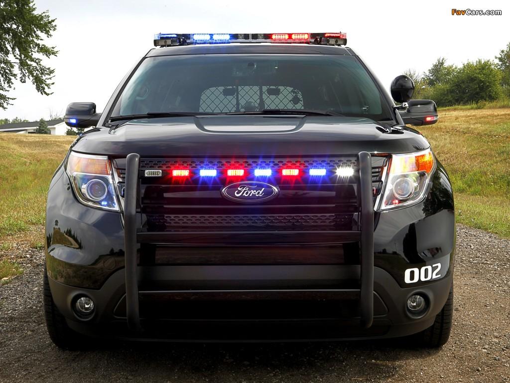 Photos of Ford Police Interceptor Utility 2010 (1024 x 768)
