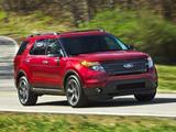 Photos of Ford Explorer Sport (U502) 2012