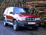 Pictures of Ford Explorer UK-spec 1995–2001