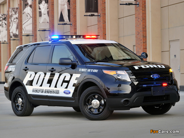 Pictures of Ford Police Interceptor Utility 2010 (640 x 480)