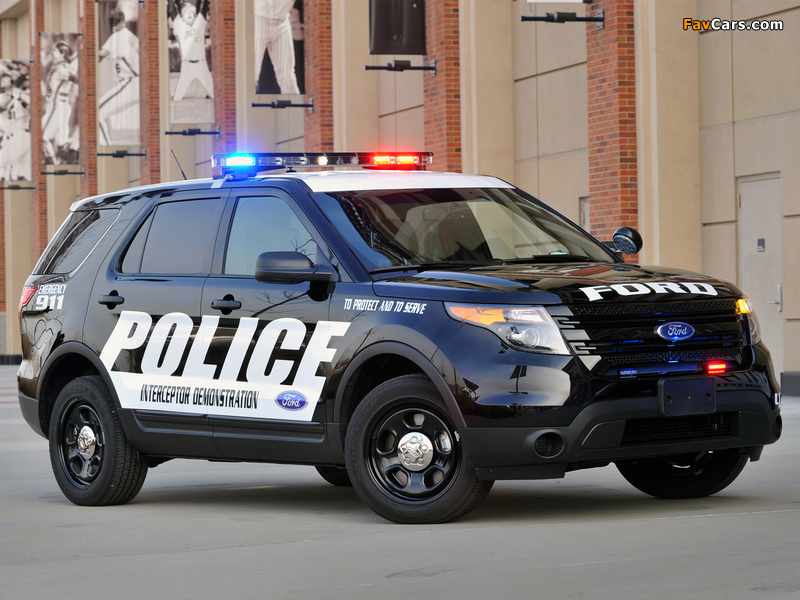 Pictures of Ford Police Interceptor Utility 2010 (800 x 600)