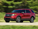 Pictures of Ford Explorer Sport (U502) 2012
