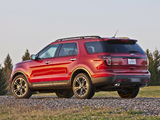 Ford Explorer Sport (U502) 2012 wallpapers