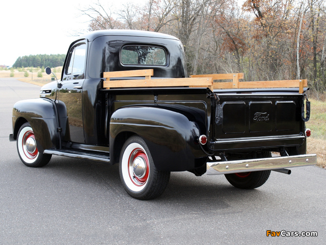 Ford F-1 Pickup 1948–52 wallpapers (640 x 480)
