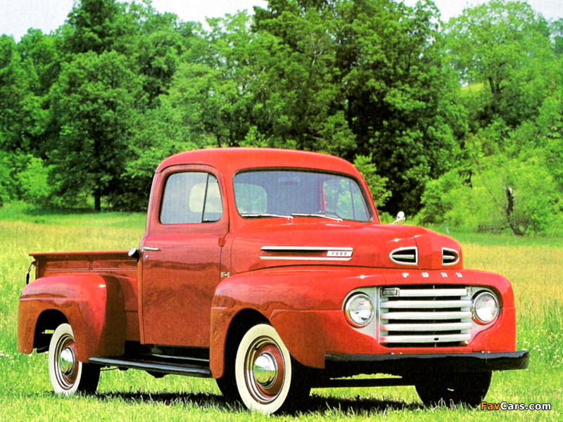 Ford F-1 Pickup 1948–52 wallpapers (800 x 600)
