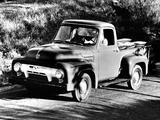 Ford F-100 1954 photos