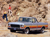 Ford F-100 Styleside Pickup 1978 pictures