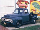 Pictures of Ford F-100 1953