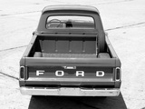 Ford F-100 Styleside Custom Cab 1965 wallpapers