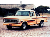 Ford F-1000 1986–91 photos