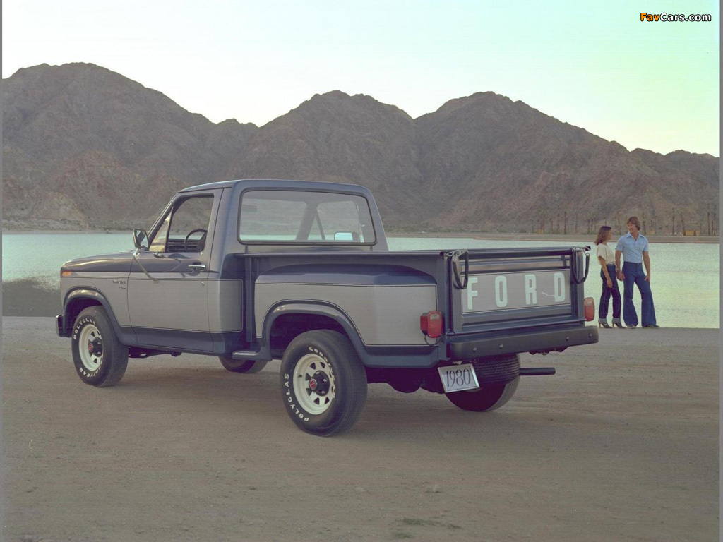 Ford F 150 Flareside Pickup 1980 Photos 1024x768