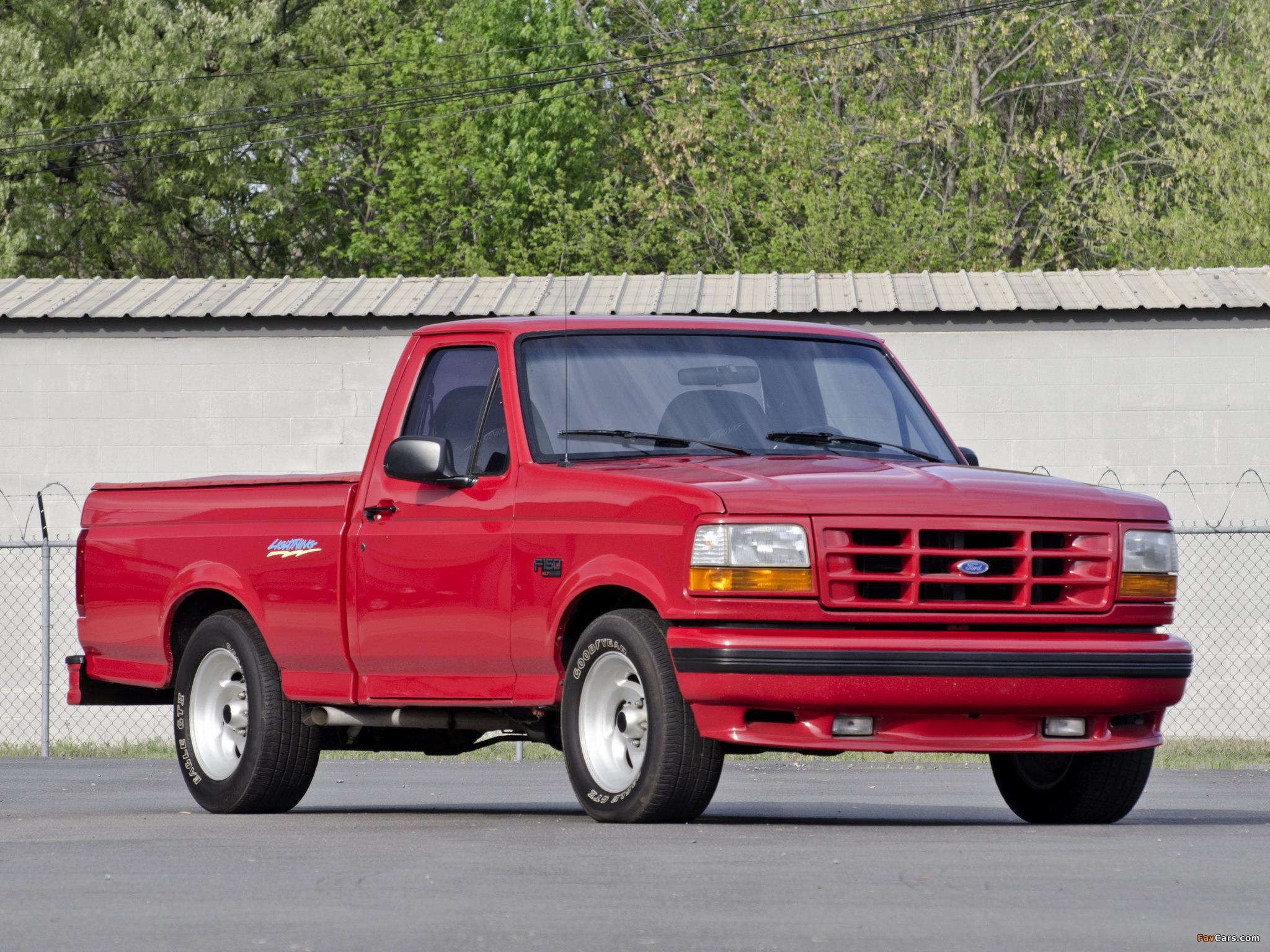 Ford Lightning 1993 >> Ford SVT F-150 Lightning 1993–95 images (2048x1536)