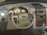 Ford F-150 Lariat SuperCrew 2004–05 pictures