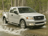Ford F-150 STX 2004–05 wallpapers