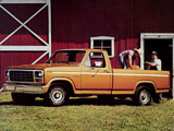 Images of Ford F-150 Ranger 1980–86