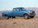 Images of Ford F-150 XLT 1992–96
