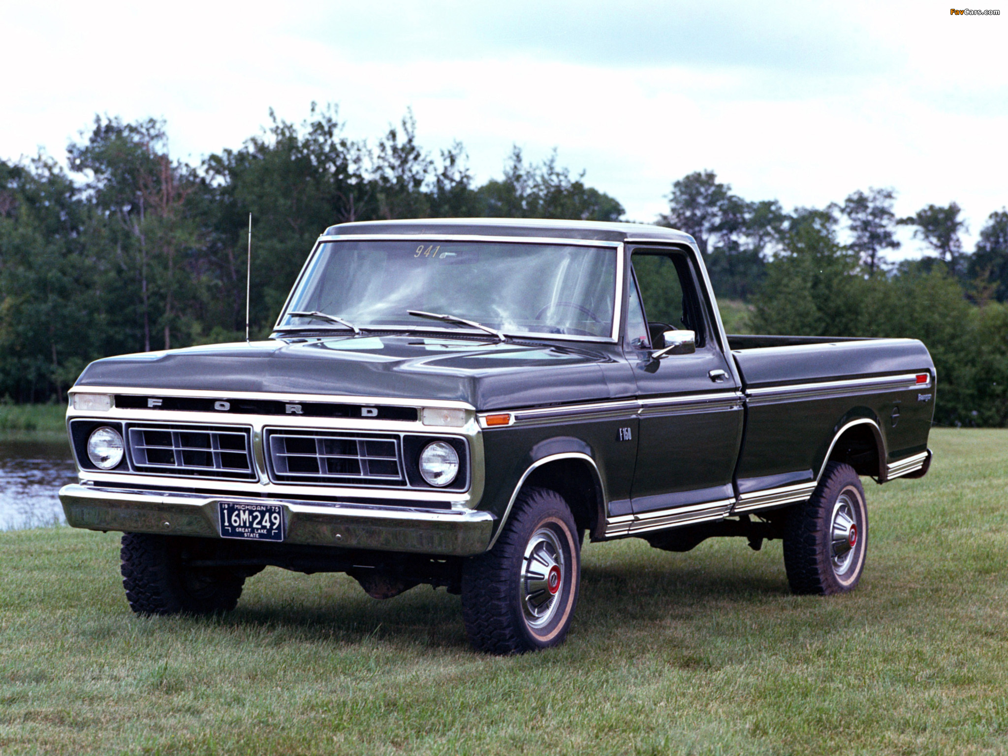 Vintage Truck Bed >> Pictures of Ford F-150 Ranger 1976–77 (2048x1536)