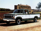 Pictures of Ford F-150 Ranger 1980–86