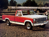 Ford F-150 Ranger 1980–86 wallpapers