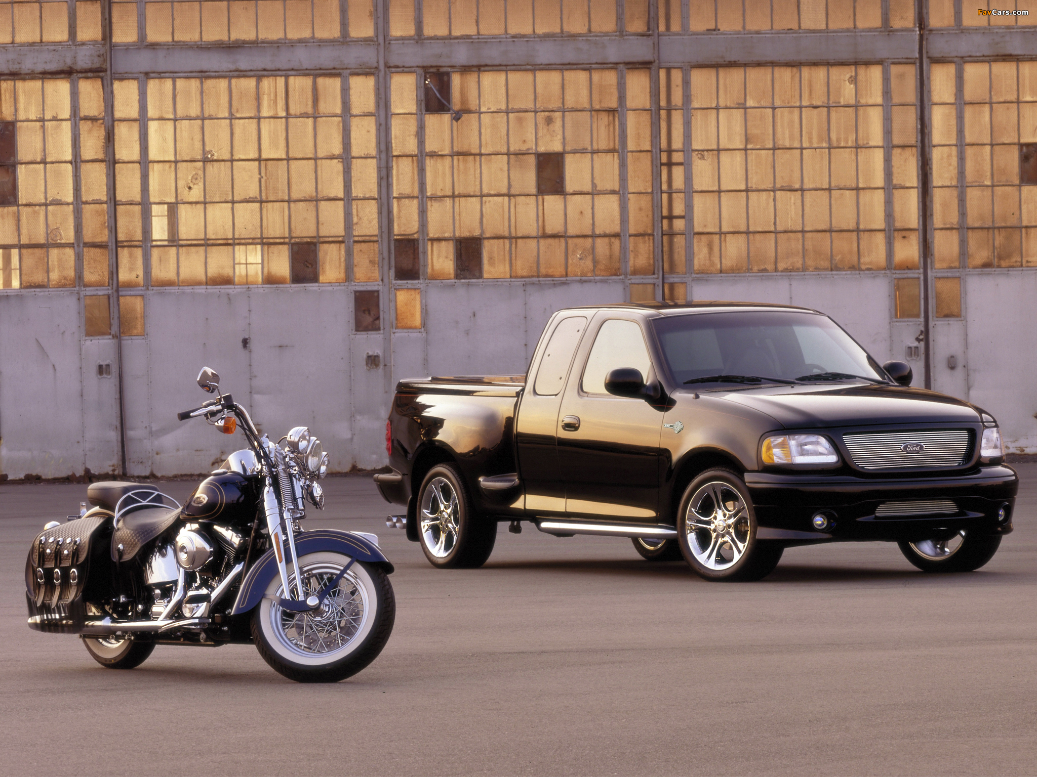 Download Harley Davidson 883 2048 X 2048 Wallpapers: Ford F-150 Harley-Davidson 2000 Wallpapers (2048x1536