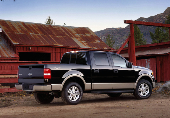 Ford F 150 Lariat Supercrew 2004 05 Wallpapers