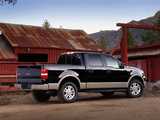 Ford F-150 Lariat SuperCrew 2004–05 wallpapers