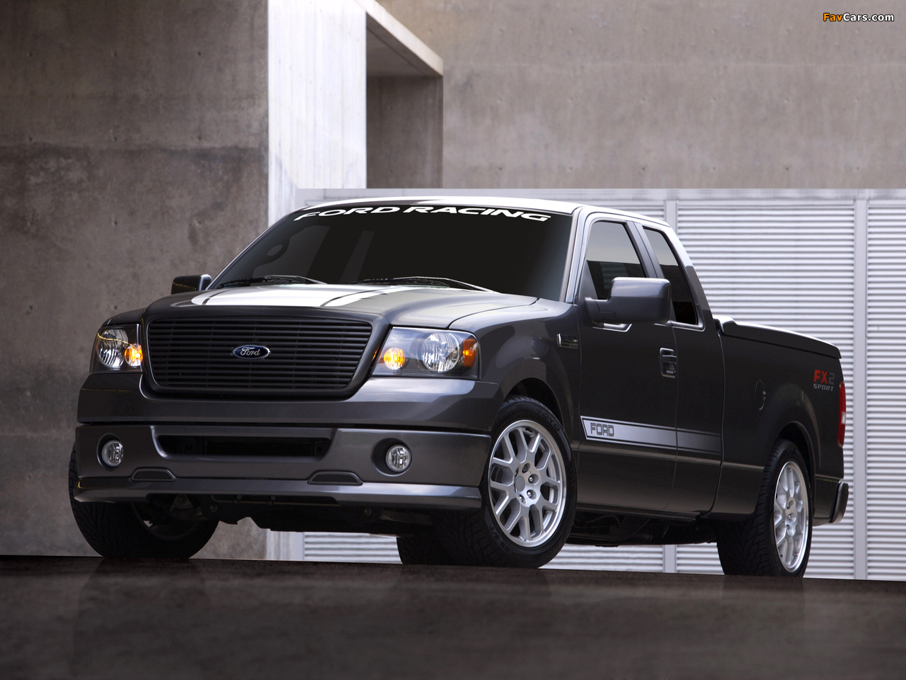 Ford F-150 FX2 Sport 2006–08 wallpapers (1280x960)