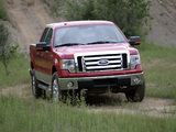 Ford F-150 XLT SuperCrew 2008–11 wallpapers