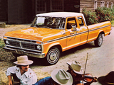 Ford F-250 Ranger Super Cab 1977 wallpapers
