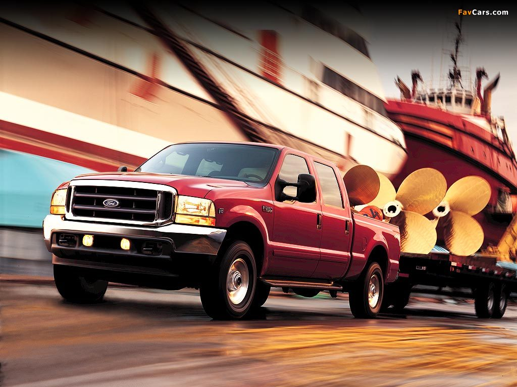 Ford F-250 Super Duty Crew Cab 1999–2004 wallpapers (1024x768)