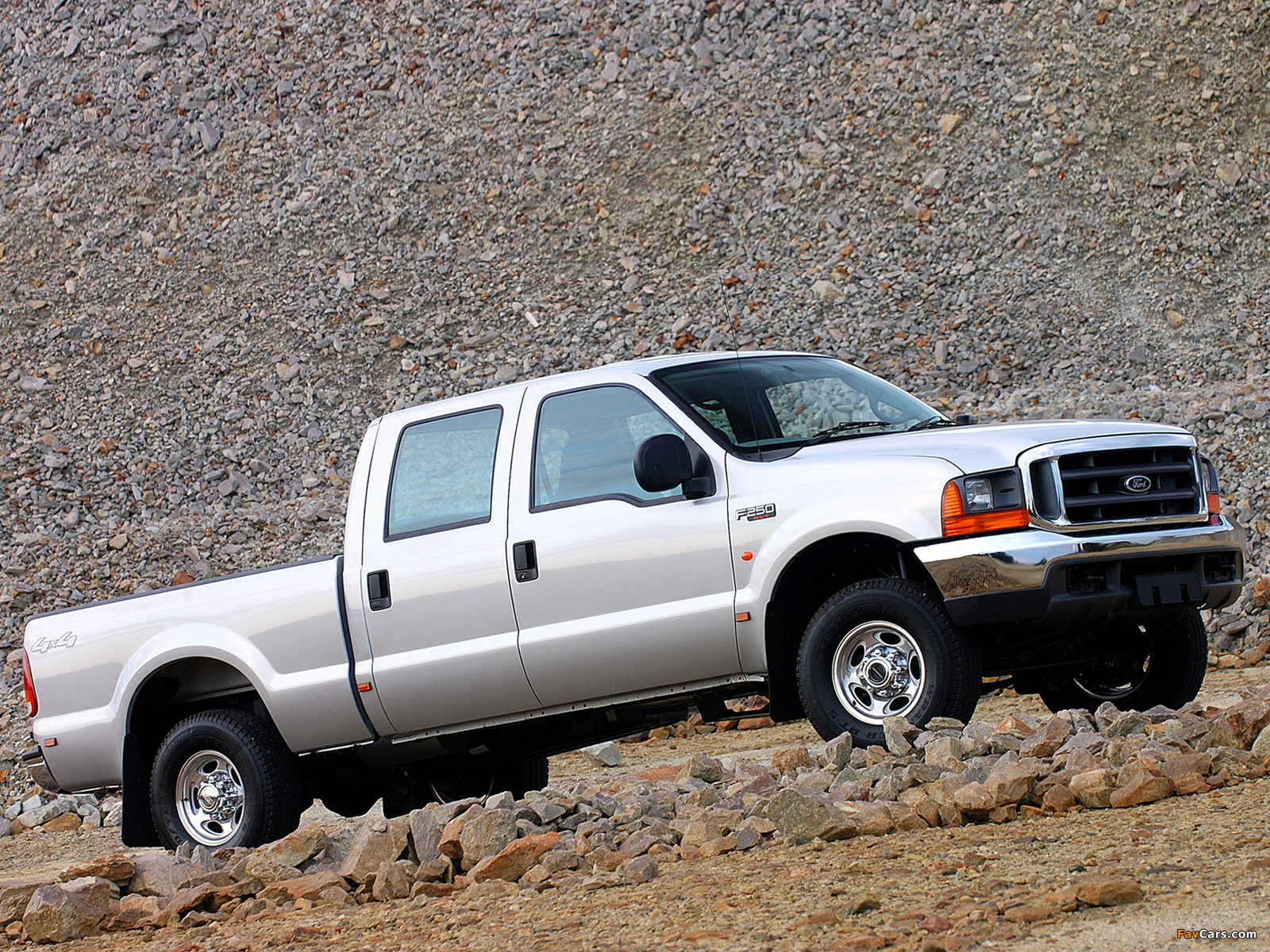 Ford F-250 Double Cab ZA-spec 2005–08 images (1600 x 1200)