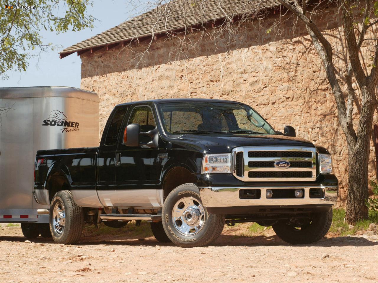 Ford F-250 FX4 2005–07 photos (1280 x 960)