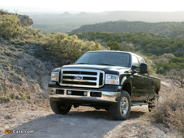 Ford F-250 FX4 2005–07 pictures (640 x 480)