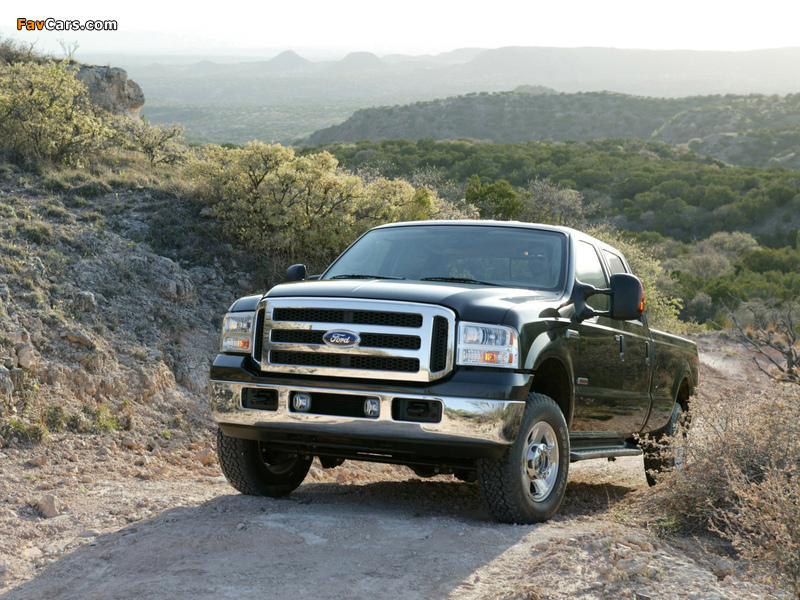 Ford F-250 FX4 2005–07 pictures (800 x 600)