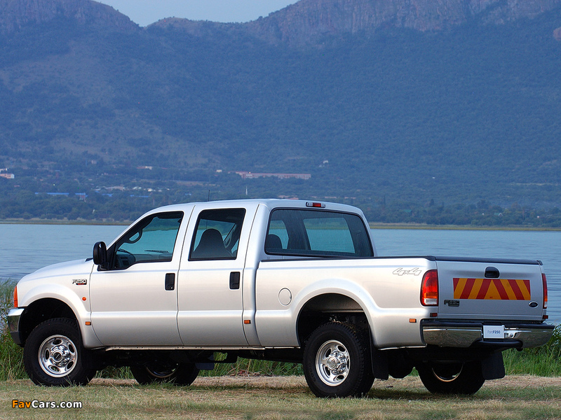 Ford F-250 Double Cab ZA-spec 2005–08 wallpapers (800 x 600)
