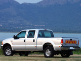 Ford F-250 Double Cab ZA-spec 2005–08 wallpapers