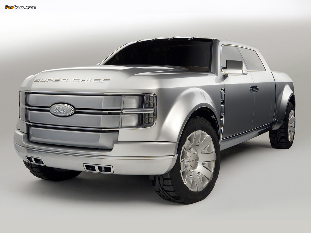Ford F-250 Super Chief Concept 2006 images (1024 x 768)