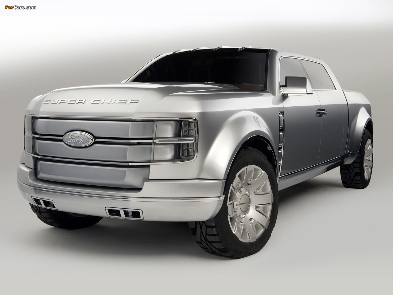 Ford F-250 Super Chief Concept 2006 images (1280 x 960)