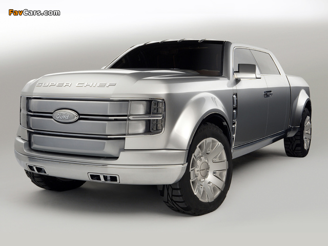Ford F-250 Super Chief Concept 2006 images (640 x 480)