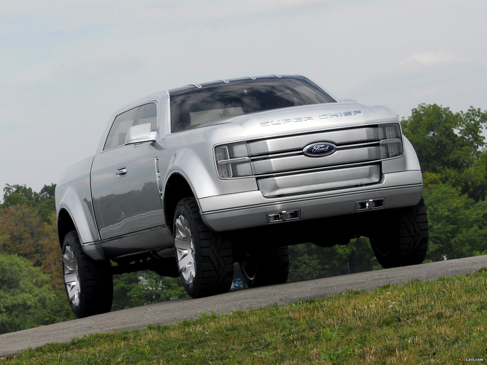 Ford F-250 Super Chief Concept 2006 images (2048 x 1536)