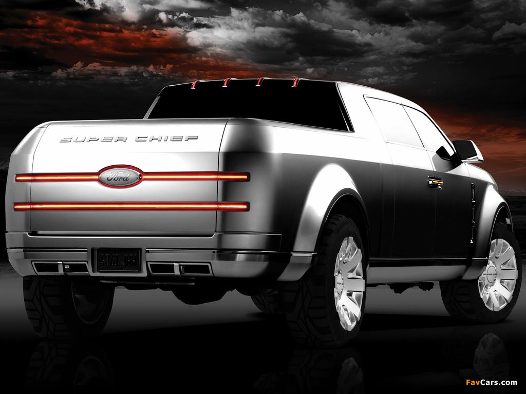 Ford F-250 Super Chief Concept 2006 photos (1024 x 768)