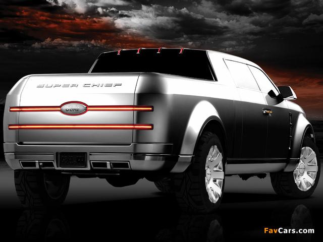 Ford F-250 Super Chief Concept 2006 photos (640 x 480)