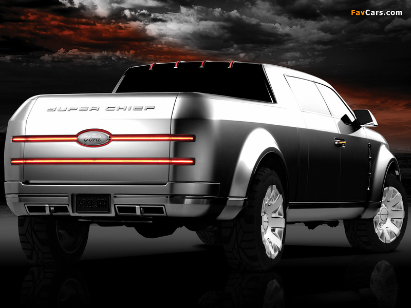 Ford F-250 Super Chief Concept 2006 photos (800 x 600)