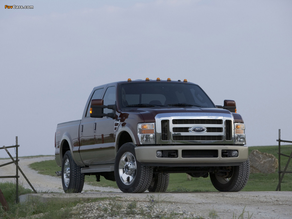 Ford F-250 Super Duty Crew Cab 2007–09 images (1024 x 768)