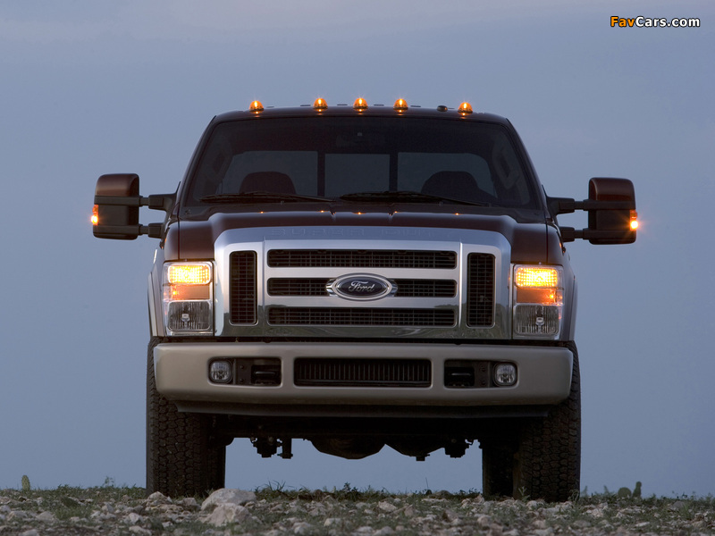 Ford F-250 Super Duty Crew Cab 2007–09 images (800 x 600)