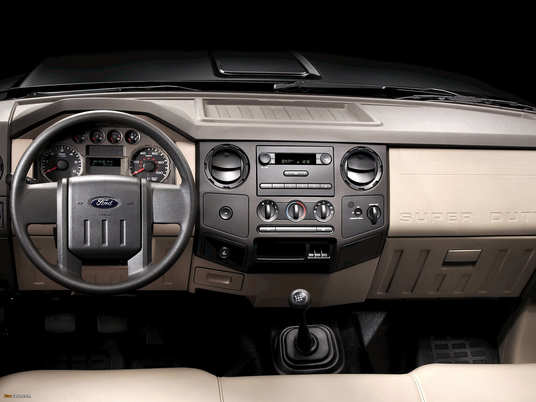 Ford F-250 Super Duty Crew Cab 2007–09 pictures (2048 x 1536)